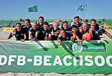 DFB Beach Soccer Cup Finale 2014